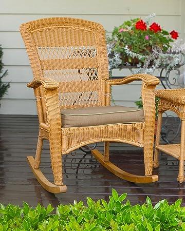 Amazon Com Tortuga Outdoor Portside Plantation Rocking Chair