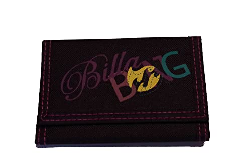 Billabong cartera negro/morado