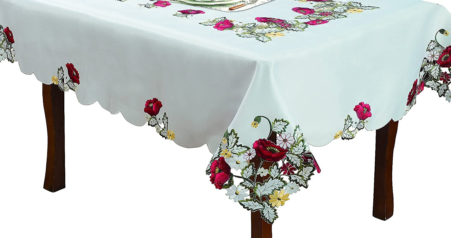 Kalanit Editex Home Textiles 768OB12007 60 by 120-Inch Editex Home Curtain Holiday Themed Tablecloth