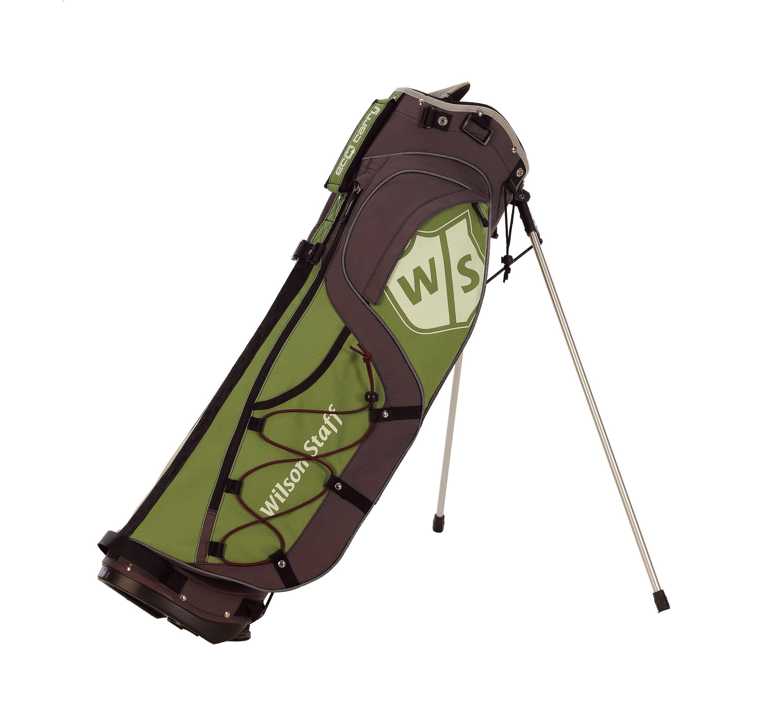 Wilson Staff Eco Carry Golf Bag (Moss Green)
