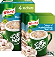Knorr Cup-A-Soup Cream of Mushroom - 20gm (Pack of 4)