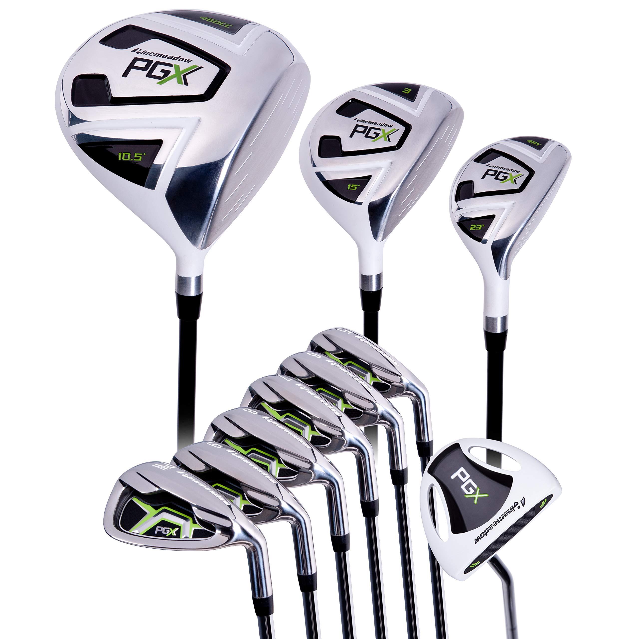 Pinemeadow Golf PGX 9pc Set + PGX Putter by Pinemeadow Golf