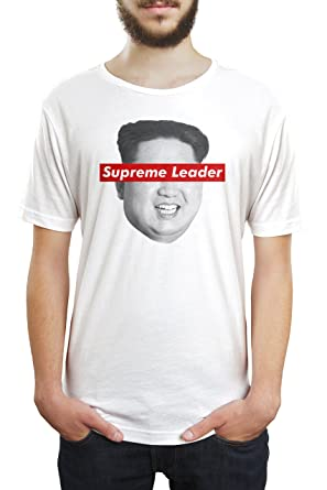 1d963de05 Kim Jong un Supreme Leader Unisex T Shirt | Amazon.com
