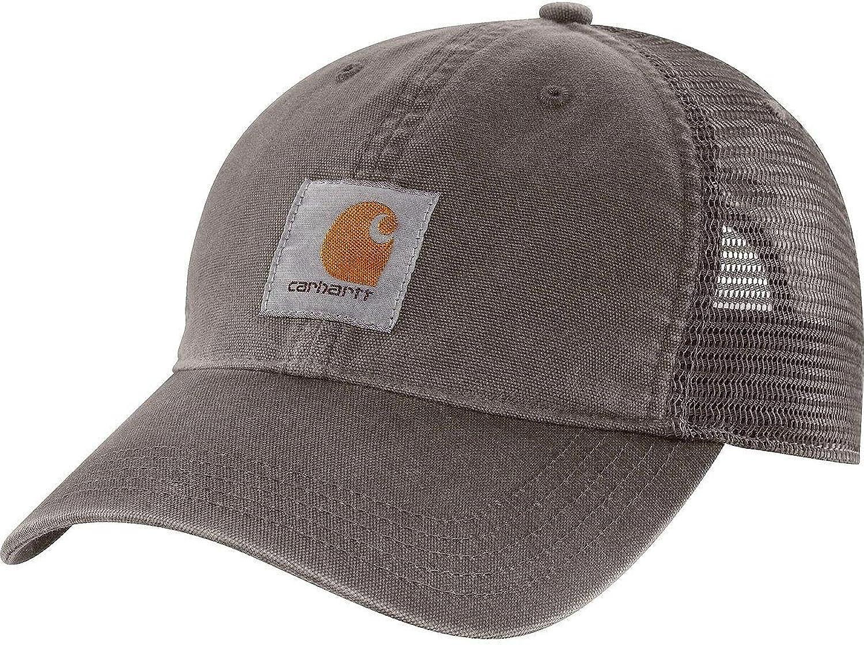 Carhartt Men's Buffalo Cap,Gravel,OFA, One size: Clothing