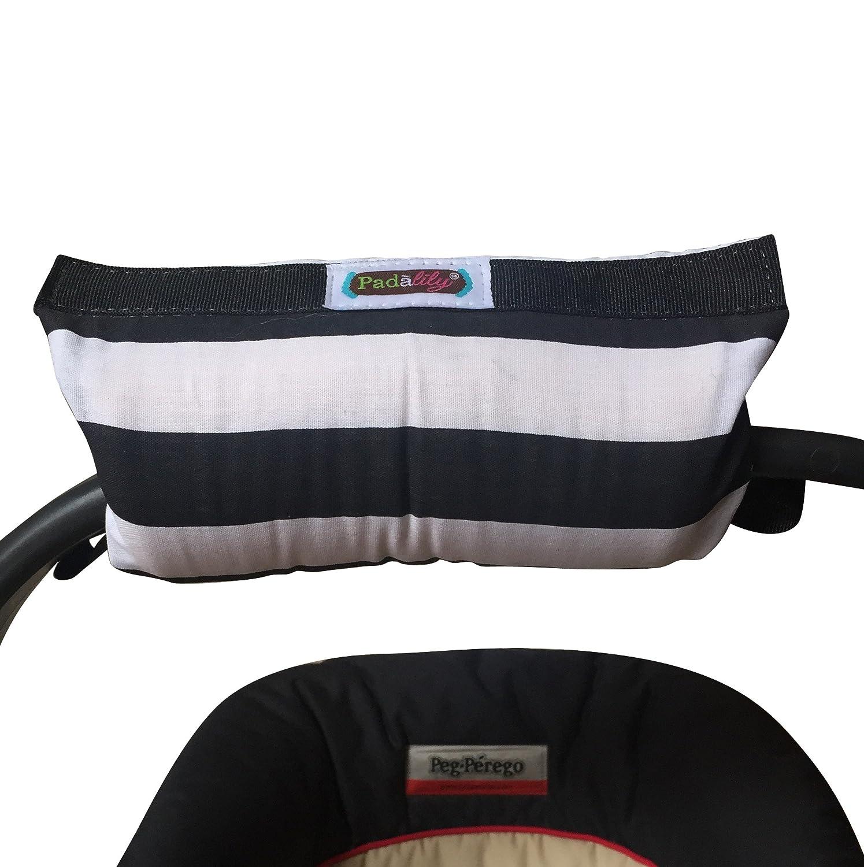 Padalily Original Car Seat Handle Cushion, Quatre Pink - Monogram Me PSC