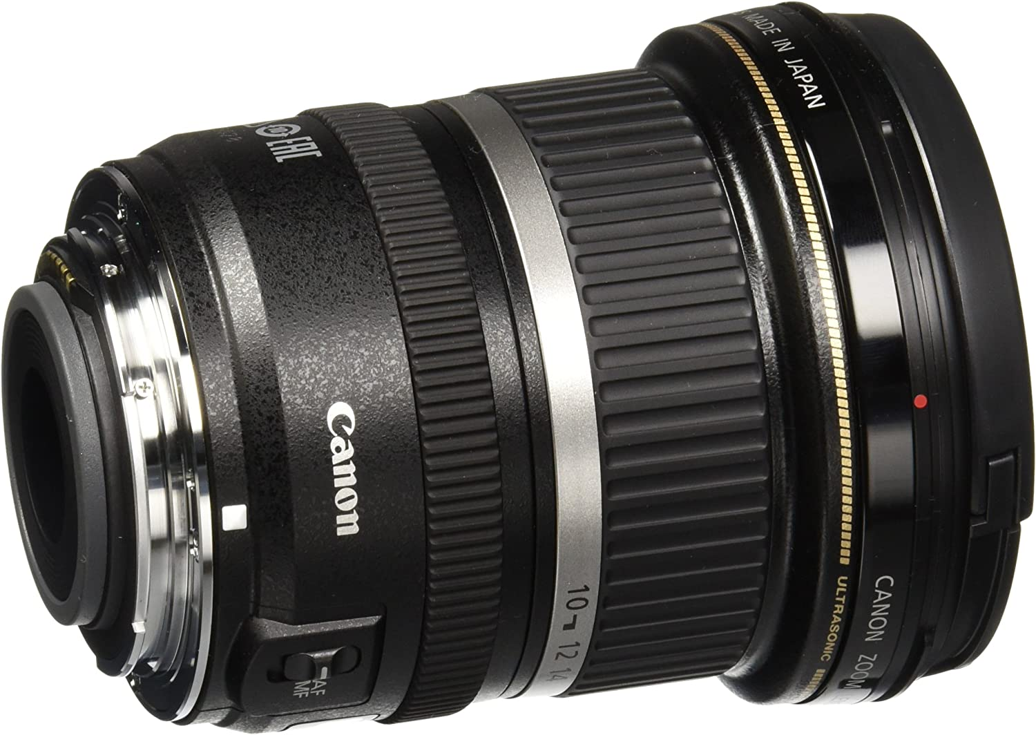 Canon EF-S 10-22 mm f//3.5-4.5 USM Lens Black