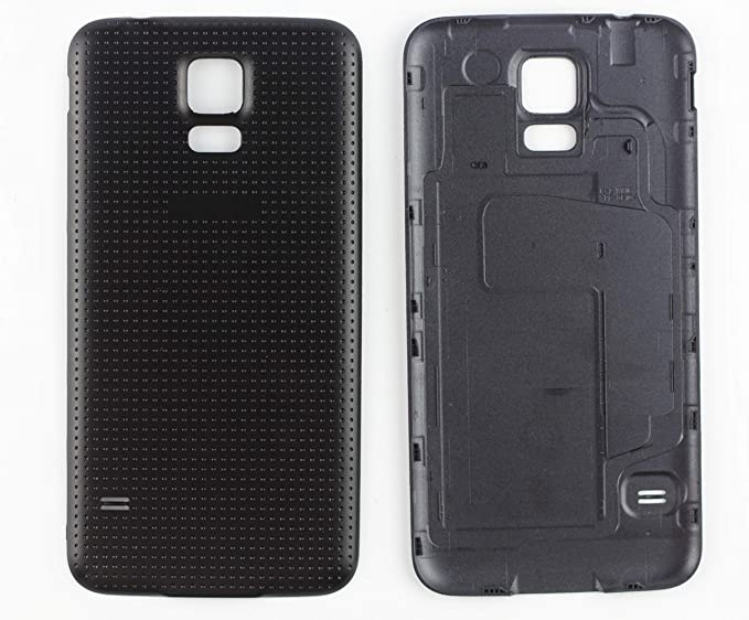 outlet store 68091 3e1dd Amazon.com: Nsiucion Samsung Galaxy S5 Battery Back Cover, Plain ...