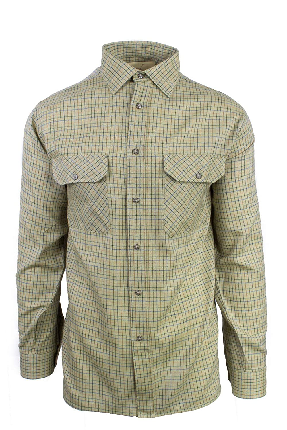 Fenside Country Clothing - Camisa Casual - Manga Larga - para Hombre  Amazon .es  Ropa y accesorios 2a779d03b4c