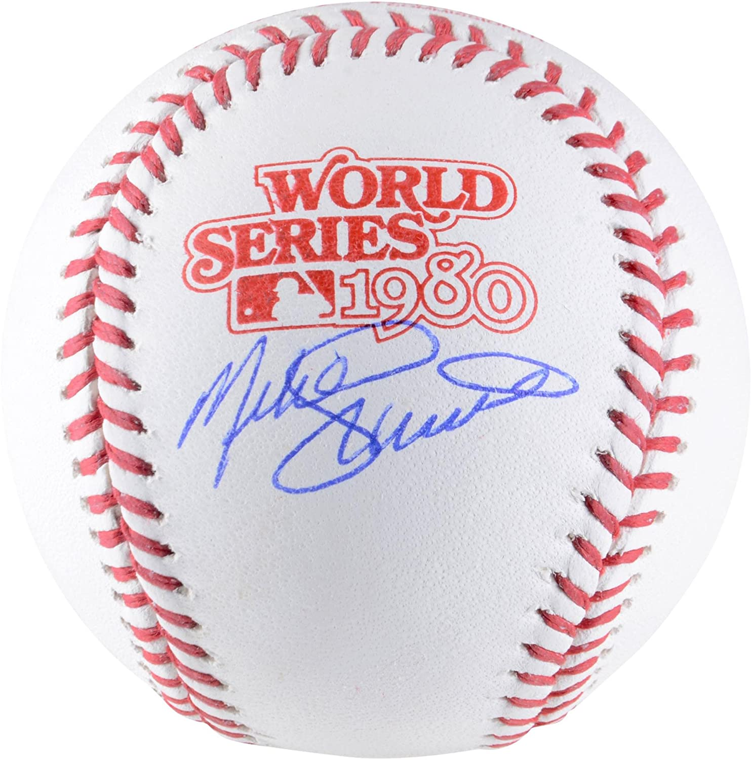Mike Schmidt Philadelphia Phillies Autographed 1980 World Series Logo Baseball - Fanatics Authentic Certified