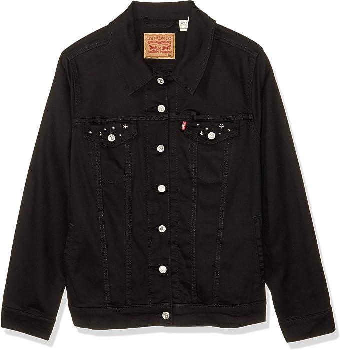 Levi's 李维斯 经典款 女式牛仔夹克 牛仔服 XS码2.2折$17.1 海淘转运到手约¥166