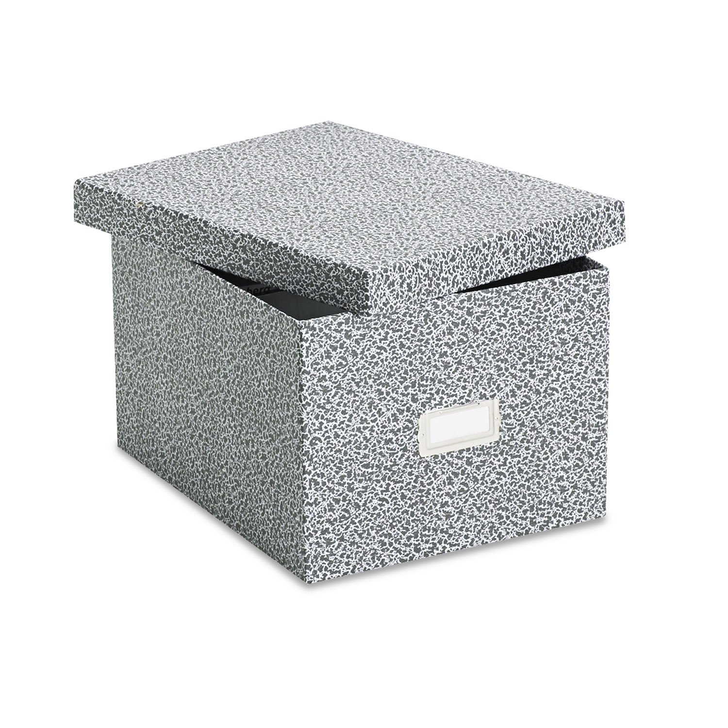 OXF40591 - Oxford Plastic Index Card Boxes w/Lids by Oxford