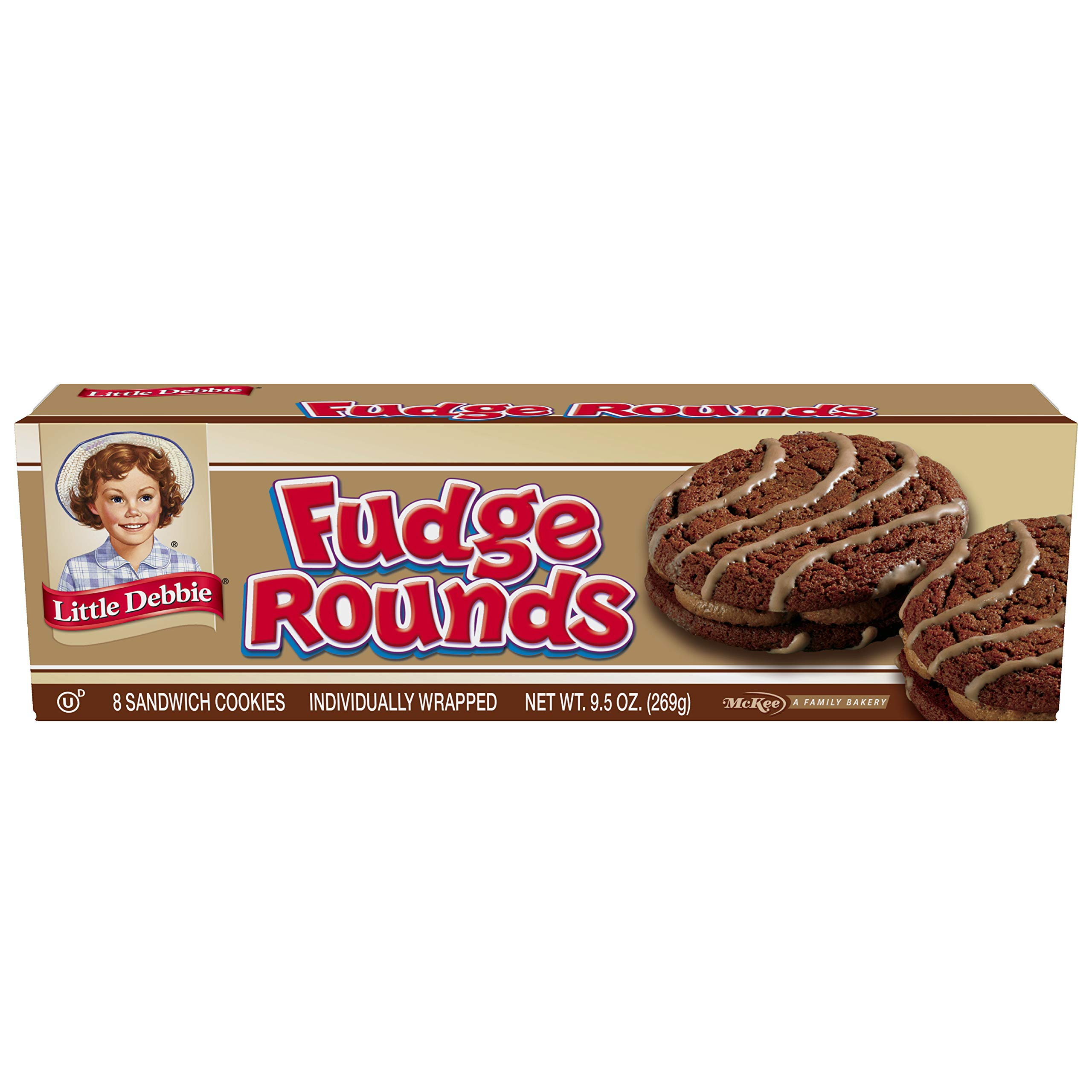 Little Debbie Fudge Rounds - 4 Pack by Little Debbie