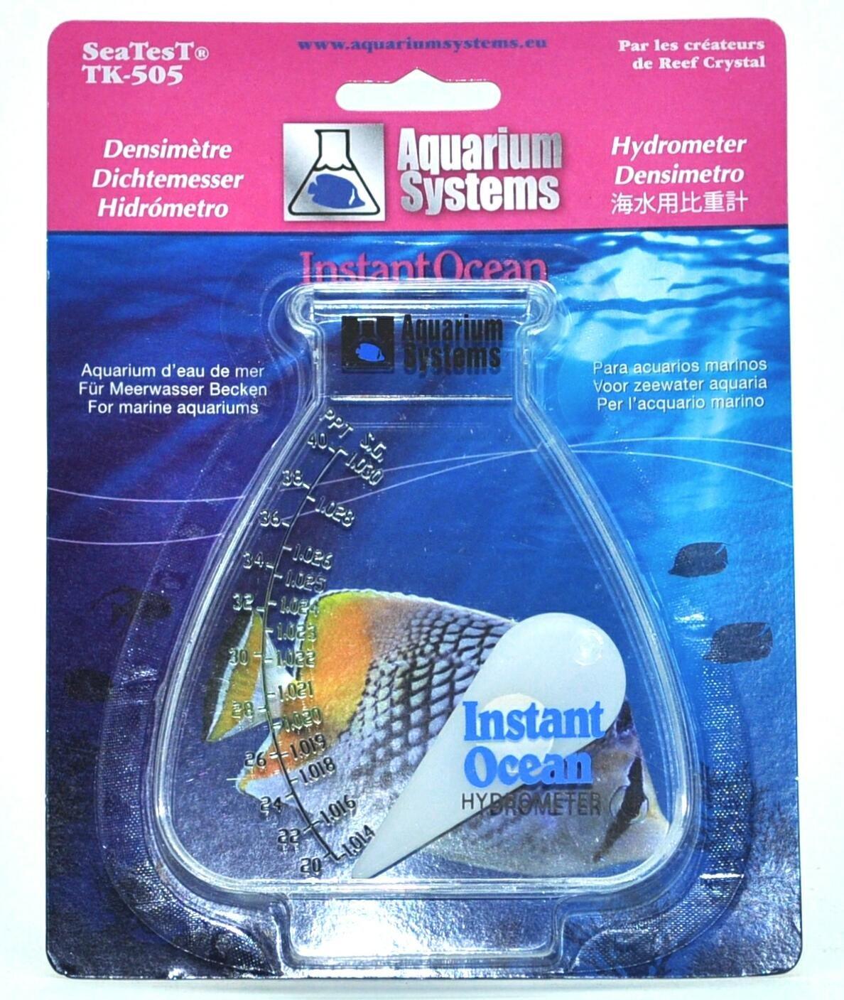 instant ocean hydrometer. buy aquarium systems instant ocean hydrometer online at low prices in india - amazon.in y