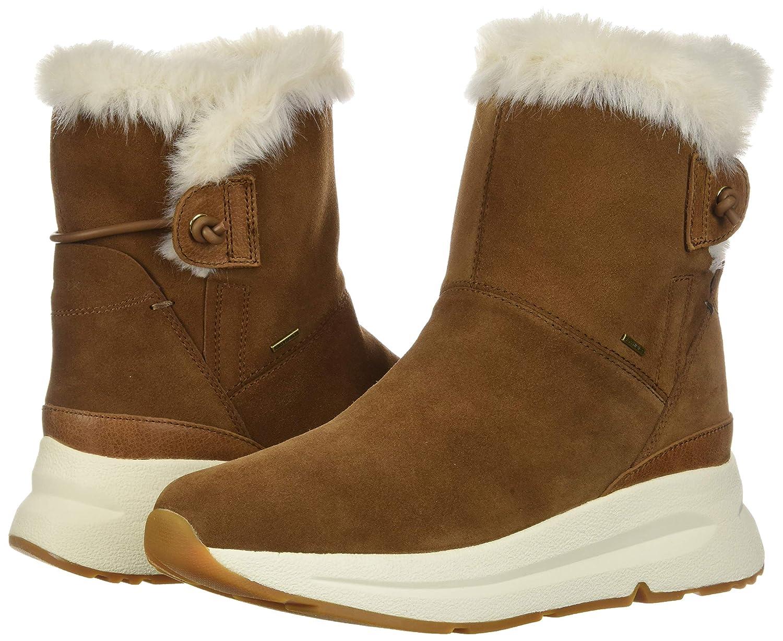 amortiguar Mentalmente Lavandería a monedas  Botas Botas de Nieve para Mujer Geox D Backsie B ABX C Zapatos y  complementos