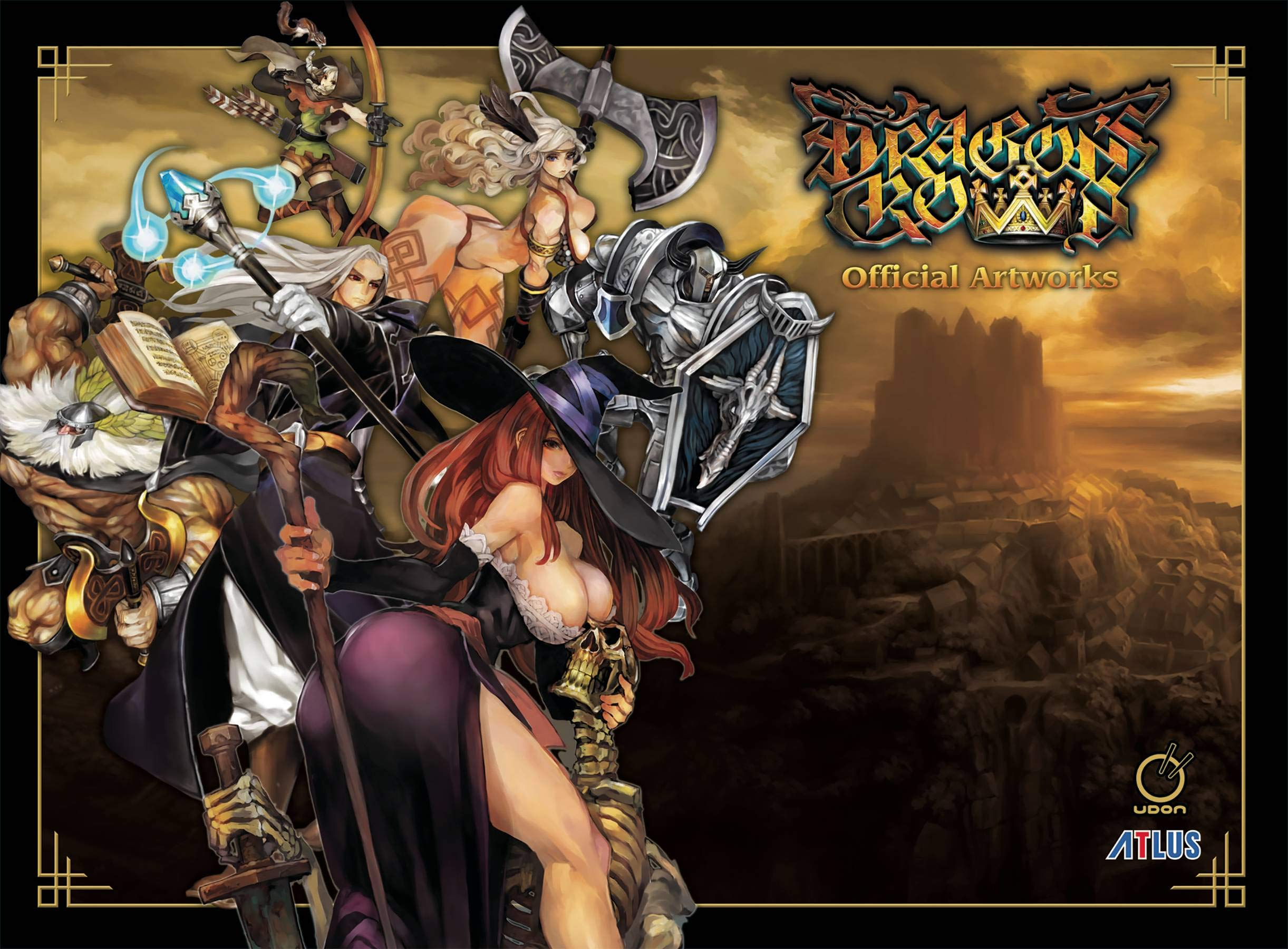 Dragons Crown: Official Artworks (Young Adult): Amazon.es ...