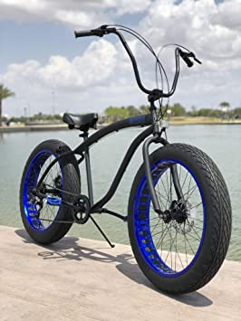 Fat Tire Beach Cruiser Bike