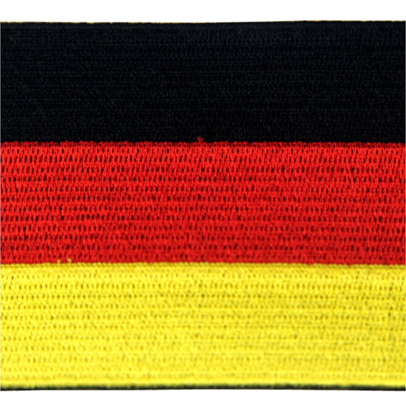 EmbTao Germany Flag Embroidered Emblem German Applique Iron On Sew On Patch