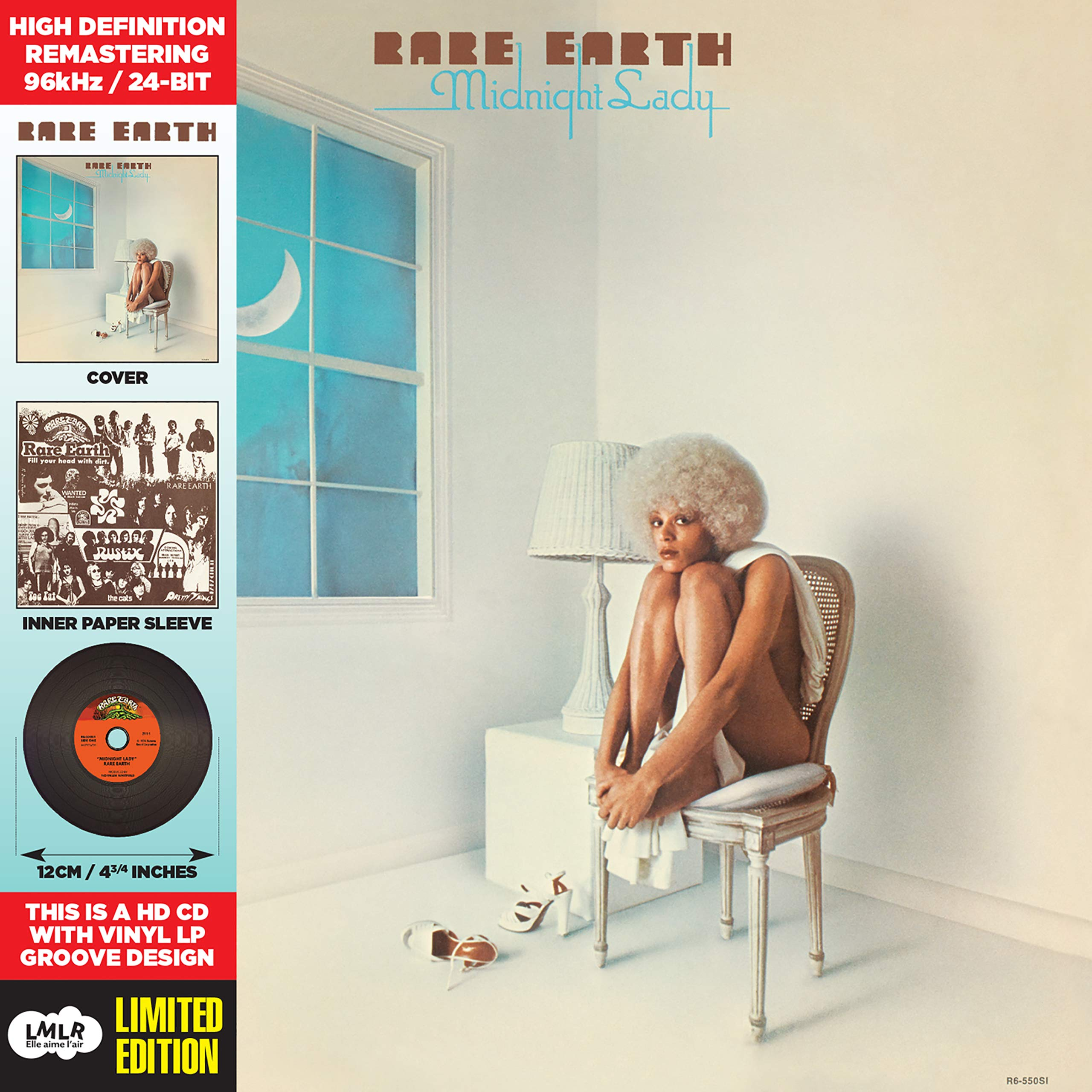 CD : Rare Earth - Midnight Lady (CD)