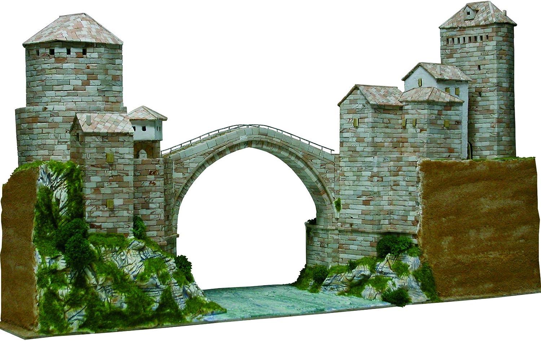Asiatische aedes1204/37/x 26/x 7/cm Mostar Bridge Model Kit