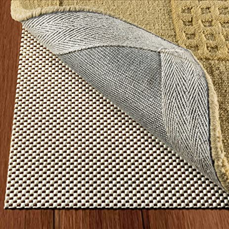 Non Slip Rug Pad Size 8u0027 X 10u0027 Extra Strong Grip Thick Padding And