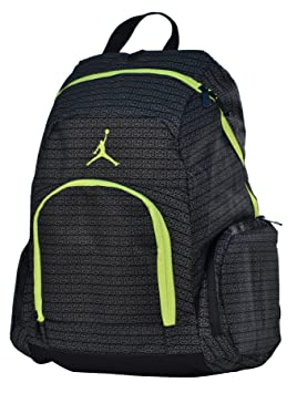 Image Unavailable. Image not available for. Colour  Jordan Nike Air Jumpman  23 Backpack Laptop Book Bag-Black Yellow fbe2074c49cd8
