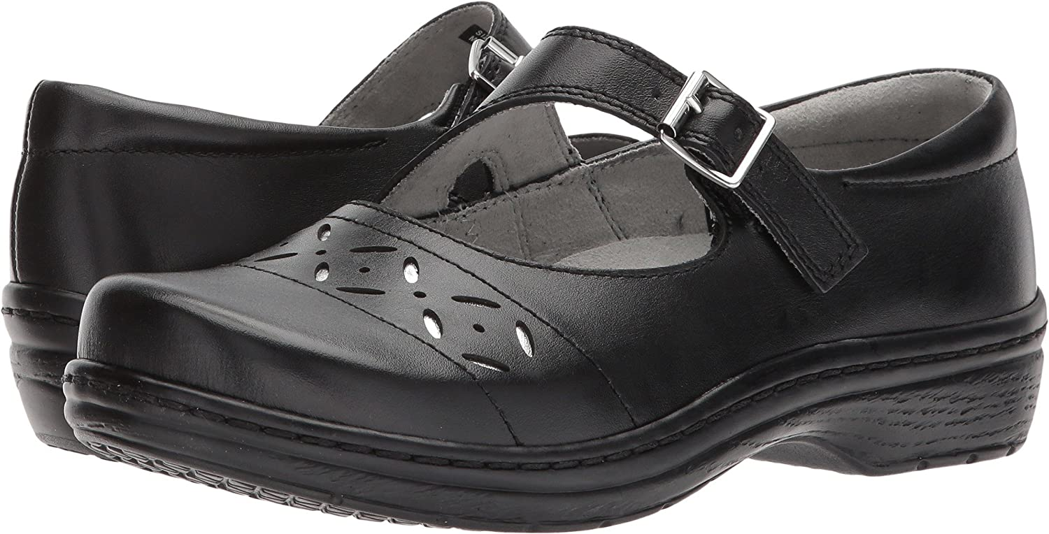 Klogs USA Women's Madrid Clog B071L9QM7Z 6 B(M) US|Black Smooth