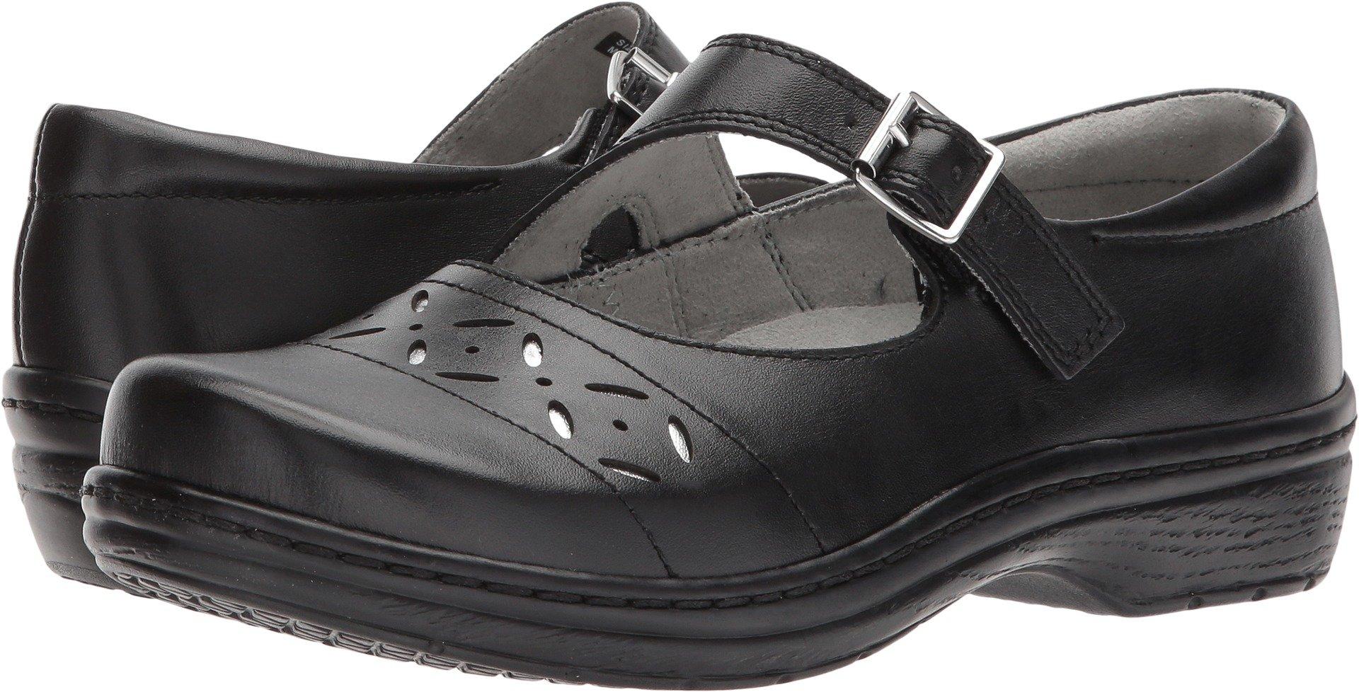 Klogs Footwear Women's Madrid Black Smooth 9 M US