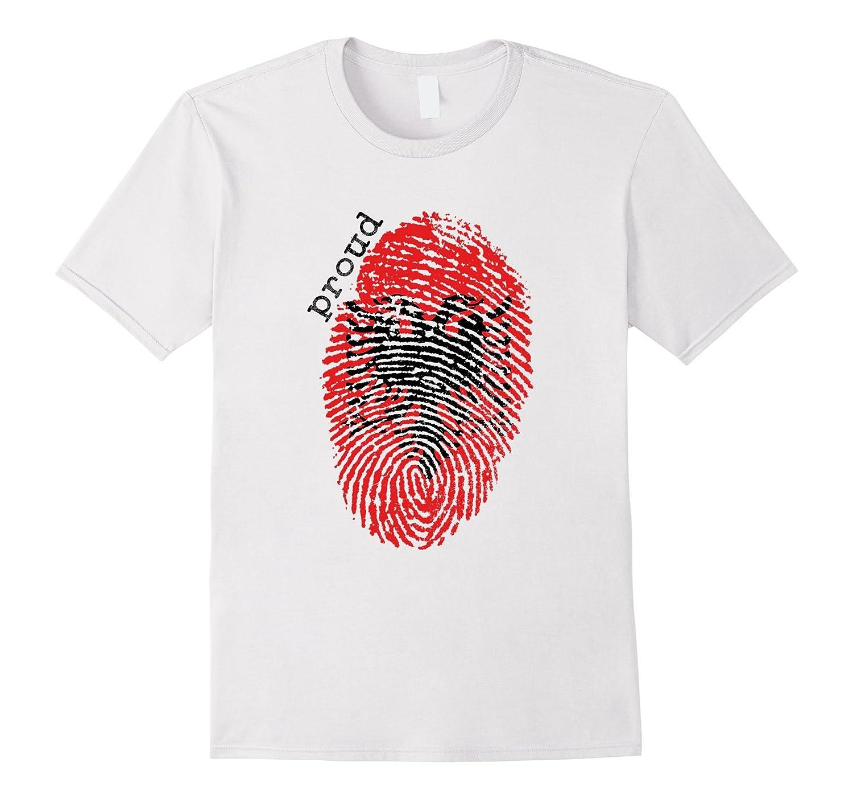 Albania flag t-shirt - Albania National Flag-TD