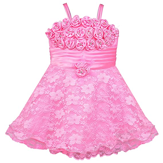 86f49b73e Wish Karo Baby Girls Net Party Wear Frock Dress - (fe104)  Amazon.in ...