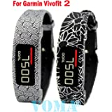 VOMA USA Garmin Vivofit 2 Wristband/Garmin Band/Garmin Vivofit 2 Band/Garmin Wristband/Garmin Bracelet/Garmin replacement band