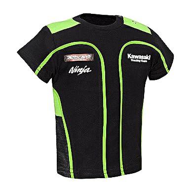 Kawasaki Sbk Kinder T Shirt Size 56 68 Amazon De Bekleidung