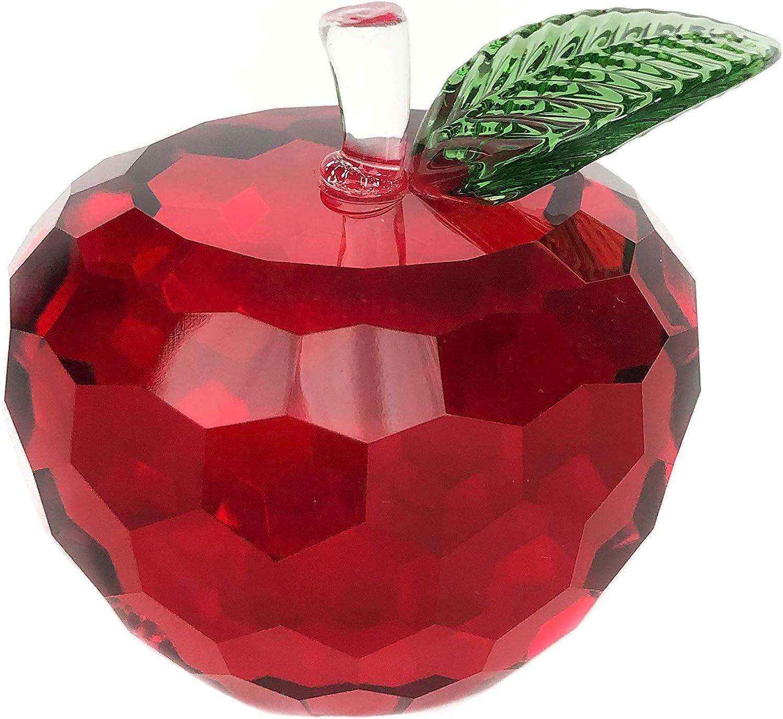 Simon Designs Red Crystal Apple