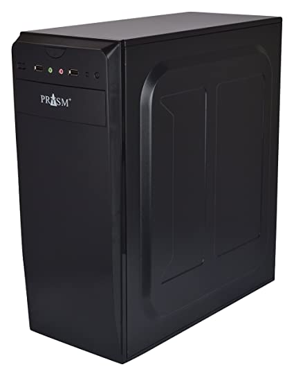 Amazon.in: Buy PRYSM+ CPU Casing / Cabinet with SMPS and Two Fans ...
