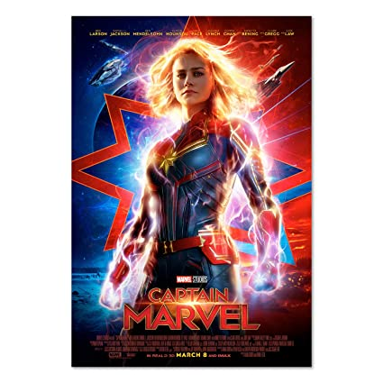 Image result for captain marvel poster