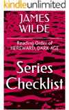 JAMES WILDE SERIES CHECKLIST - Reading Order of HEREWARD, DARK AGE (English Edition)