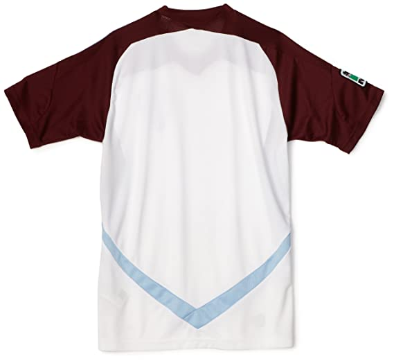5b8534d9260 Amazon.com : MLS Colorado Rapids Boy's Replica Away Jersey (White, Light Sky,  Dark Burgundy, L) : Sports Fan Jerseys : Clothing