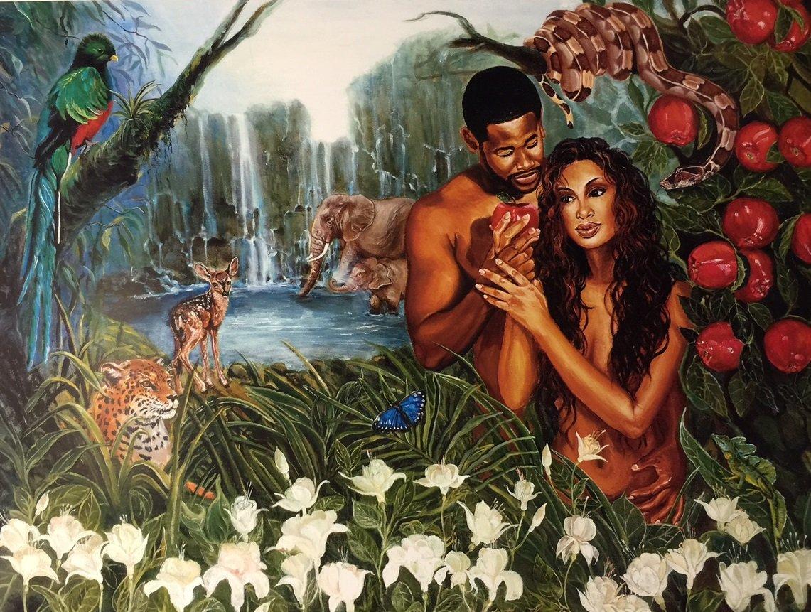 Amazon.com: In The Garden Of Eden (Religious) - Katherine Roundtree ...