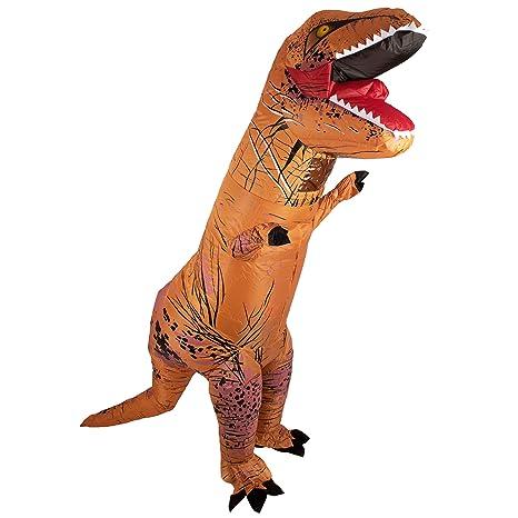 Lumunu Disfraz Inflable T-Rex Herbert, Disfraz de Fiesta de ...