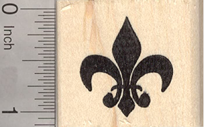 Amazon Fleur De Lis Rubber Stamp French Iris Flower Symbol Of France Fine Art