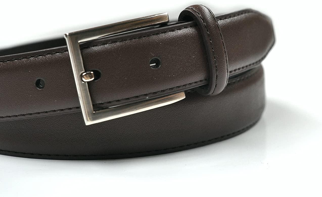 Ashford Ridge - cinturón para hombre de piel para traje y ...