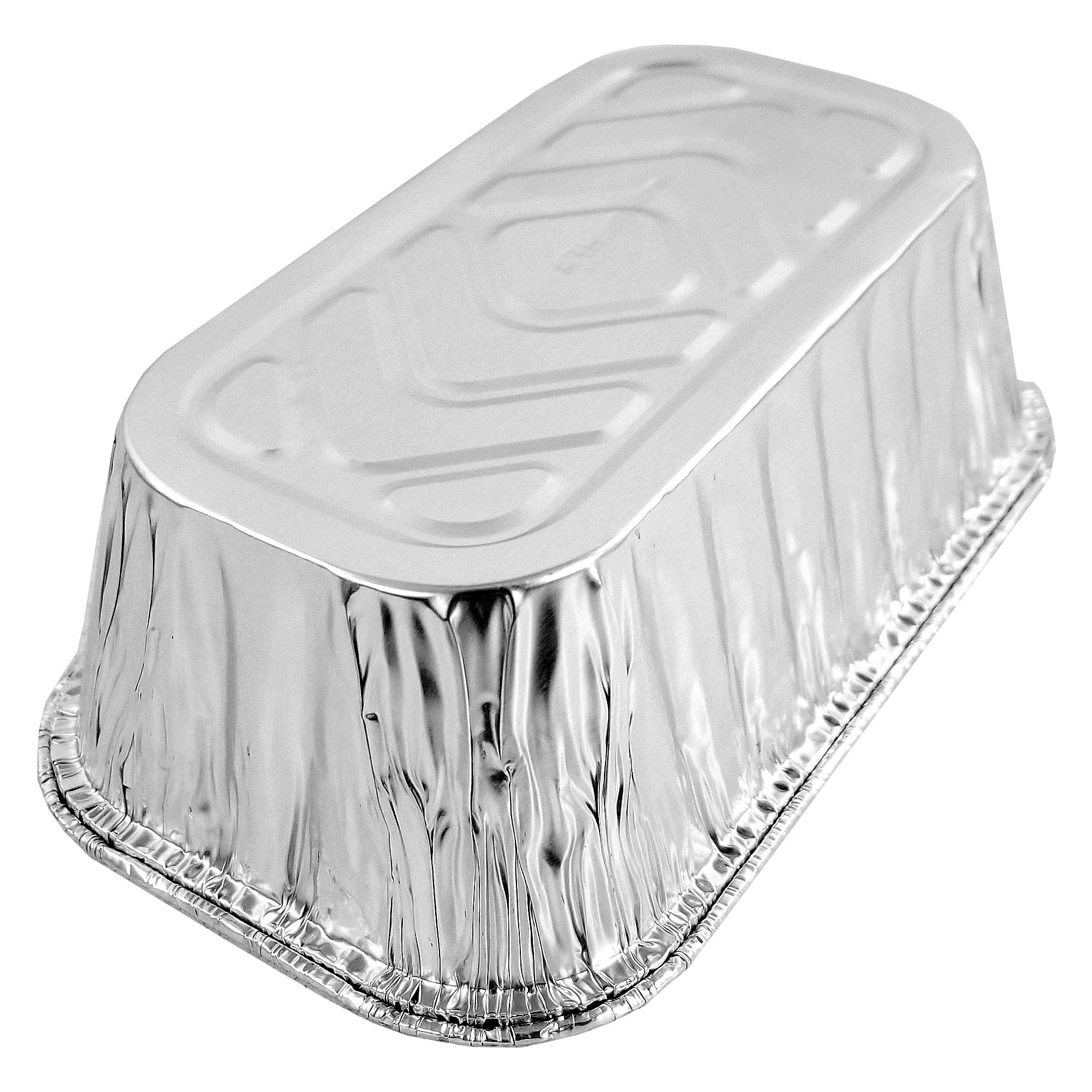 Pactogo Disposable 1 lb. Aluminum Foil Mini Loaf Pans with Clear Low Dome Lids (Pack of 400 Sets) by PACTOGO (Image #8)