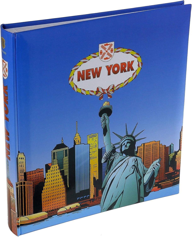Blu colore Henzo Album fotografico NEW YORK