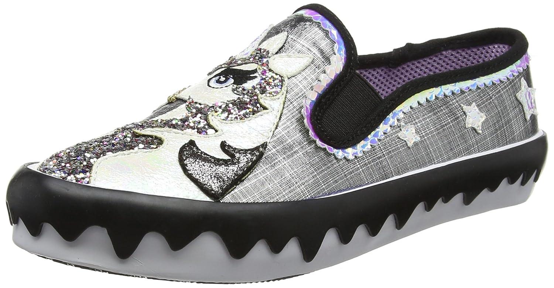 Irregular Choice Misty Castle - Zapatos de Tacón con Punta Cerrada Mujer 37 EU|Negro (Black Metallic B)