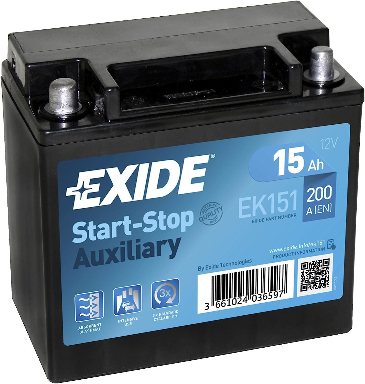 Exide EK151/AGM Auto Akku 15/Ah