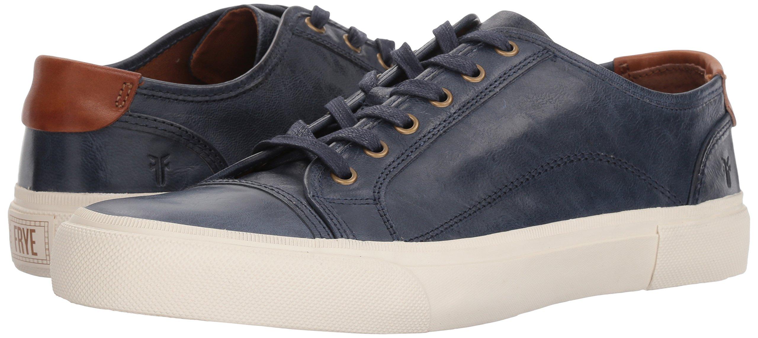 FRYE Men's Ludlow Cap Lowlace Sneaker, Navy, 11 Medium US by FRYE (Image #6)