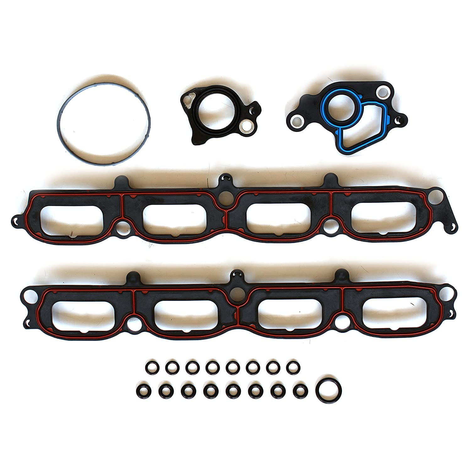 SCITOO Compatible with Intake Manifold Gasket Kit fit 2005-2012 SOHC Lincoln Navigator Ford Expedition F-150 ?5.4L V8 Engine Intake Manifold Gaskets Automotive Replacement Gasket Sets