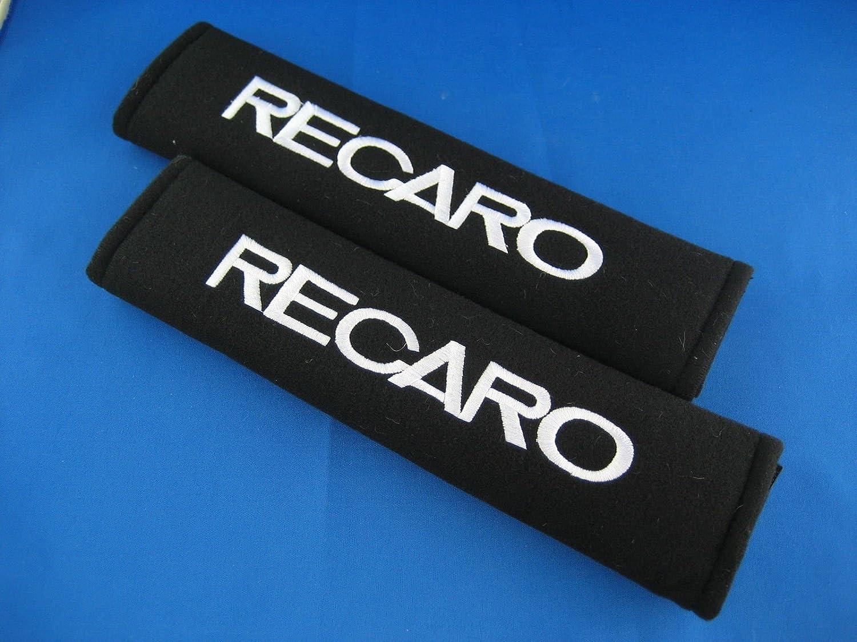 2pcs siè ge Recaro ceinture brodé e plaquettes de couverture de l'é paule Global Accessories IMP878