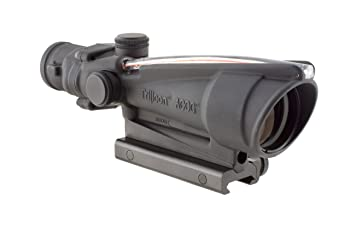 Acog 3.5 X 35 Scope Dual Illuminated Chevron .308 Ballistic Reticle - best scope for ar 10