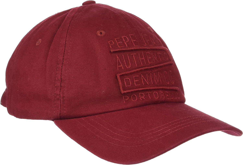 Pepe Jeans Borneo Cap PM040343 Gorra de béisbol, Rojo (Garnet 284 ...