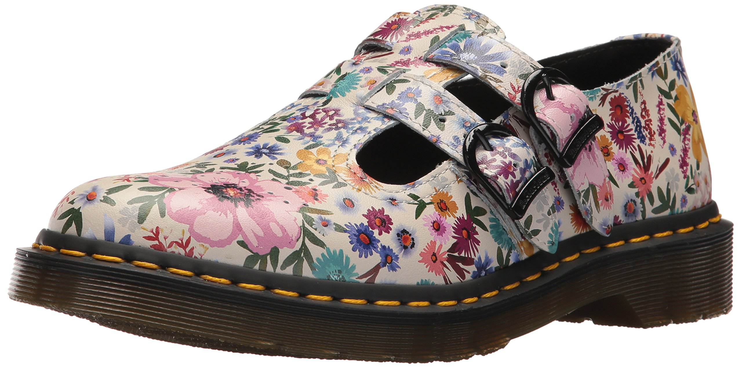 Dr. Martens Women's 8065 Wanderlust Oxford, Bone Mallow, 3 Medium UK (5 US)